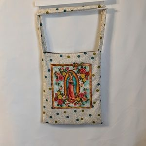 Milk Drunk Clothing Bags - Our Lady Of Guadalupe Reusable Market Tote Bag NWT